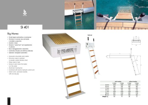 Besenzoni Ladder SI 401