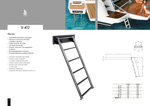 Besenzoni Ladder SI 402