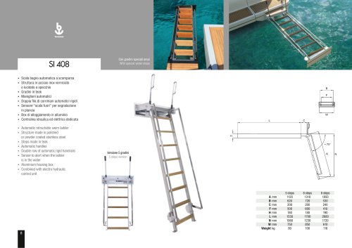 Besenzoni Ladder SI 408
