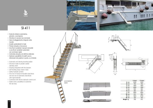Besenzoni Ladder SI 411