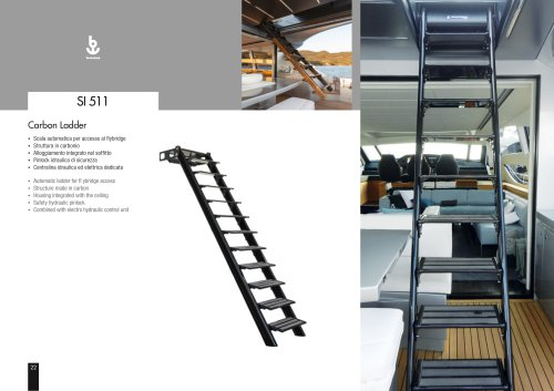 Besenzoni Ladder SI 511