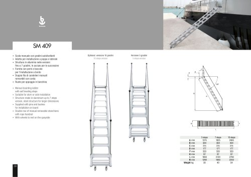 Besenzoni Ladder SM 409