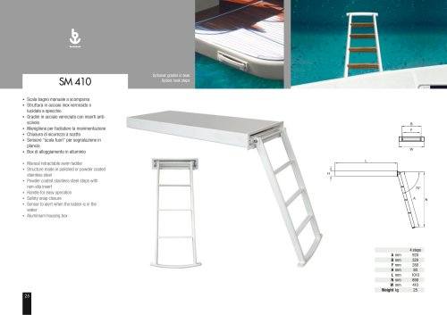 Besenzoni Ladder SM 410