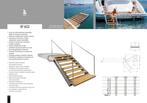 Besenzoni Ladder SP 602