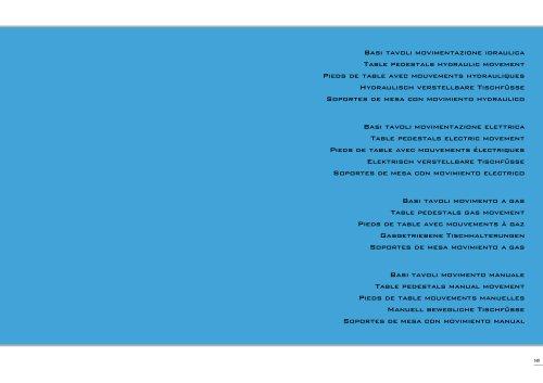 Table Pedestals Catalogue