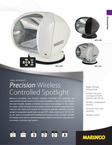 Precision Wireless Controlled Spotlight