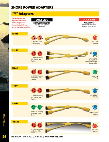 Shore Power Adapters Page 26