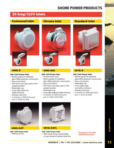 Shore Power Products