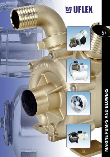 Marine pumps and blowers