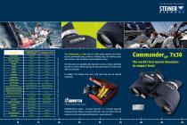Brochure STEINER Commander XP