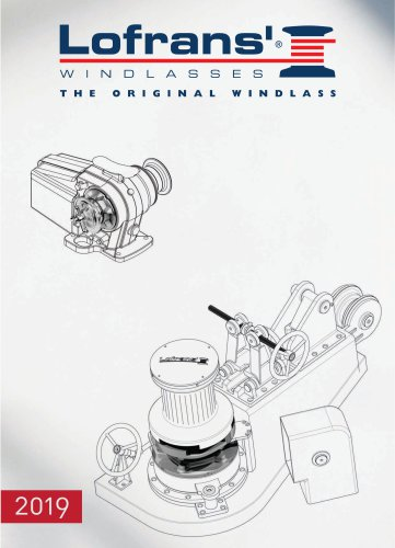 Lofrans' Catalogue 2019