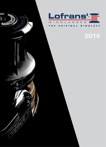 Lofrans' Windlasses 2014