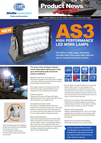 AS3 Led Work Lamp