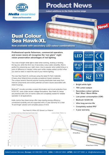 Dual colour Sea Hawk XL