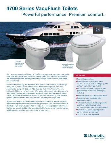 4700 Series VacuFlush Toilets
