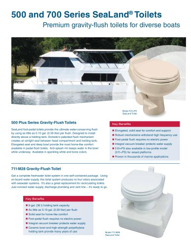 500 and 700 Series VacuFlush® Toilets