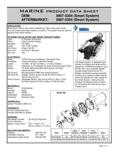 pds-Extreme Smart System 12v 5907-5304