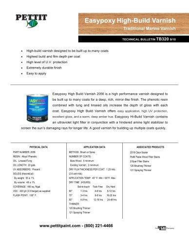 Hi-Build Varnish 2056
