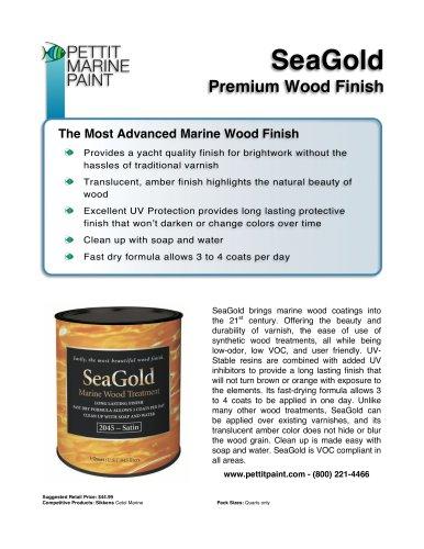 SeaGold Premium Wood Finish