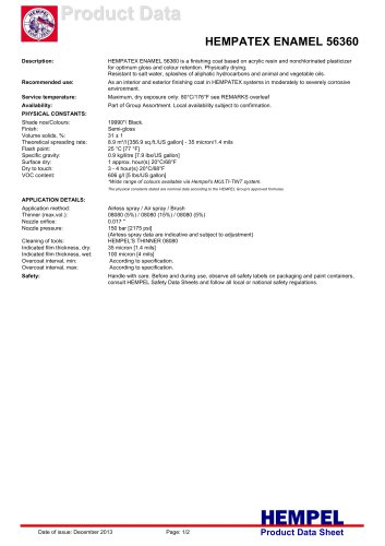 HEMPATEX ENAMEL 56360