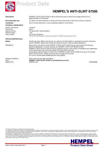 HEMPEL'S ANTI-SLINT 67500