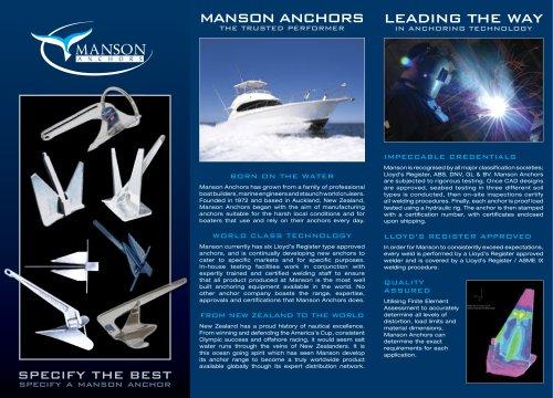 Manson brochure
