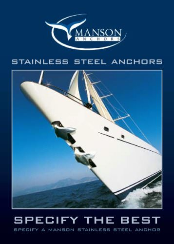 Manson Stainless Steel Anchor Brochure