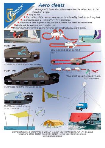 Aero cleats