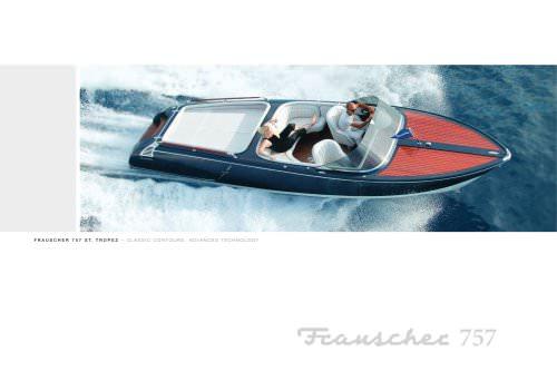 Frauscher 757 St.Tropez brochure