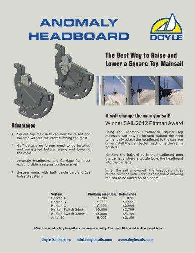 Anomaly Headboard Brochure