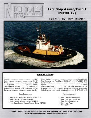 M/V Protector-Tug boat