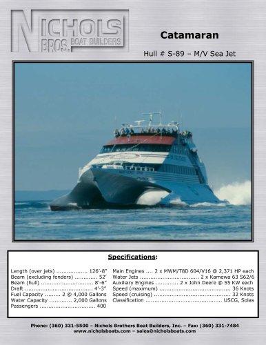 M/V Sea Jet - CATAMARAN