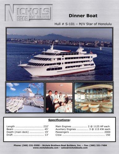 S-101 – M/V Star of Honolulu