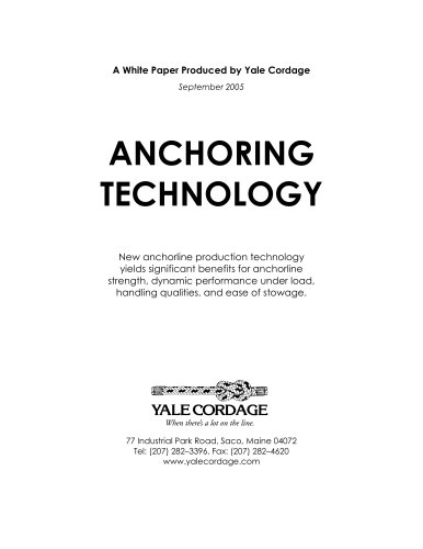 ANCHORING TECHNOLOGY PRESENTATION