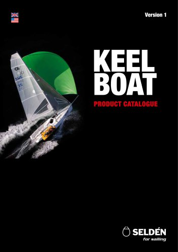 Keelboat product catalogue A4