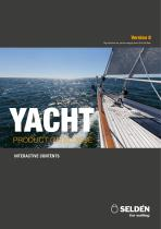 YACHT PRODUCT CATALOGUE