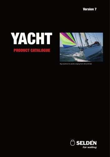Yacht Product Catalogue version 7