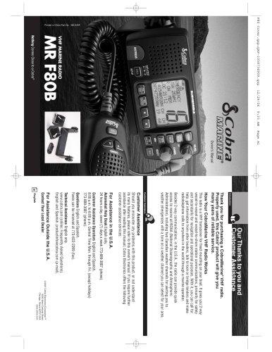 MR F80 manual