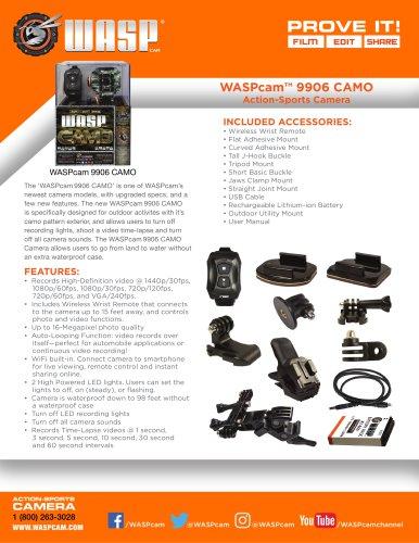 WASPcam 9906CAMO
