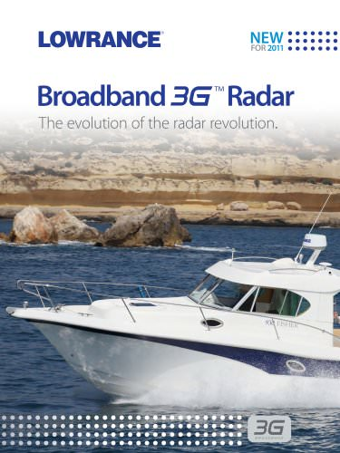 Broadband 3G™ Radar