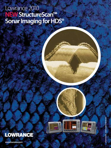 StructureScan™ Sonar Imaging for HDS®