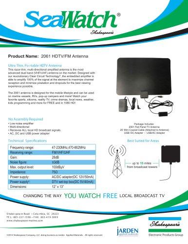 2061 SeaWatch HDTV Antenna