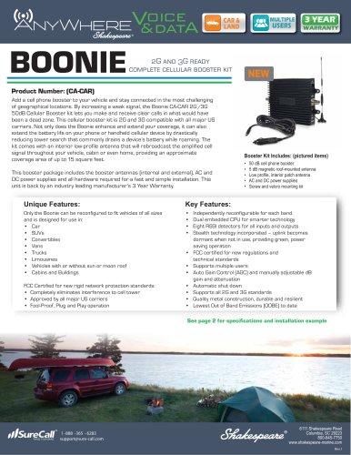 CA-CAR AnyWhere BOONIE 2G, 3G Portable Cellular Amplifier