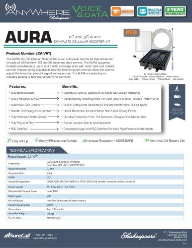 CA-VAT AnyWhere AURA 2G, 3G Cellular Amplifier