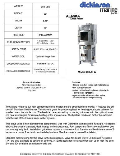 Alaska Diesel Heater