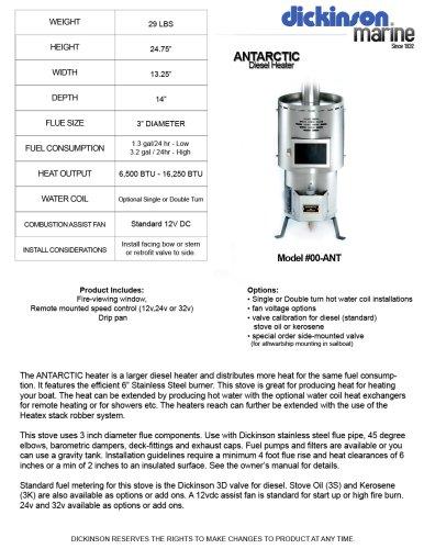 Antarctic Diesel Heater