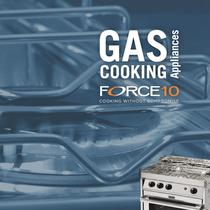 Gas cooking appliances catalog