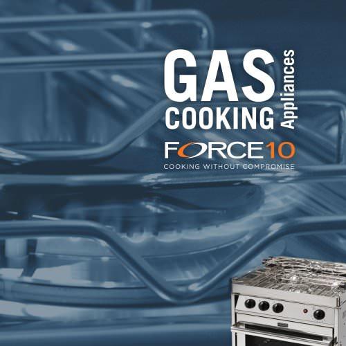 Gas cooking appliances catalog
