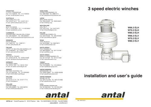 W66.3 to W80.3 Electric