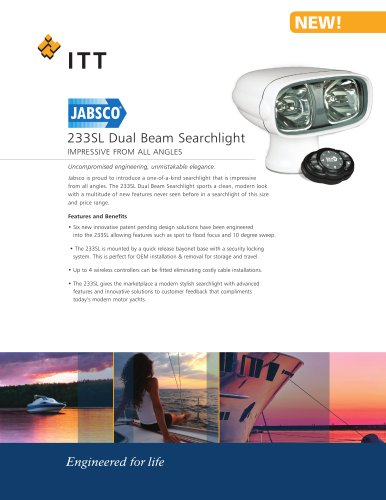 233SL Dual Beam Searchlight